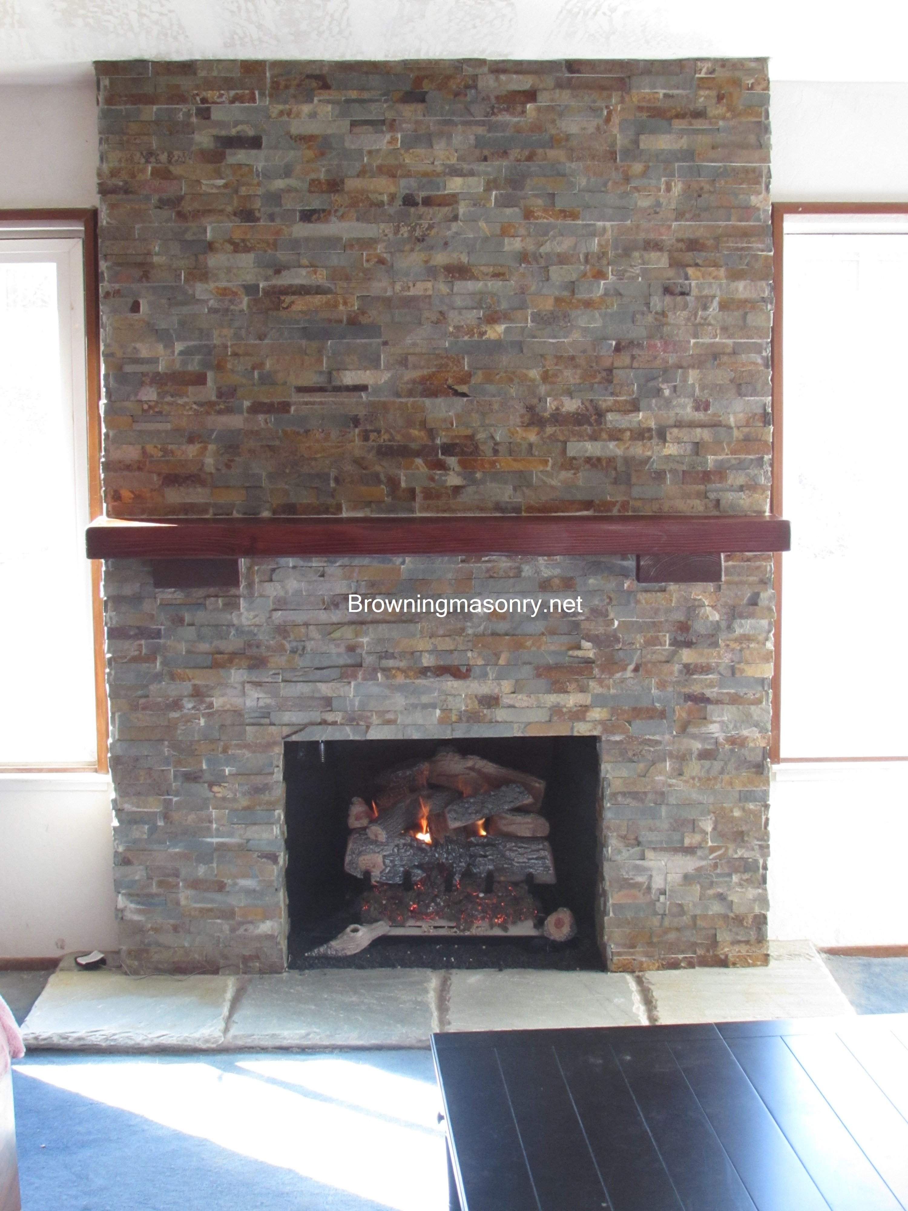 major makeovers transitional between of renovation before few fireplace remodel fp back in for brick was we second and years generation wiese ma removed idea wall that company sherborn completed the part kitchen a
