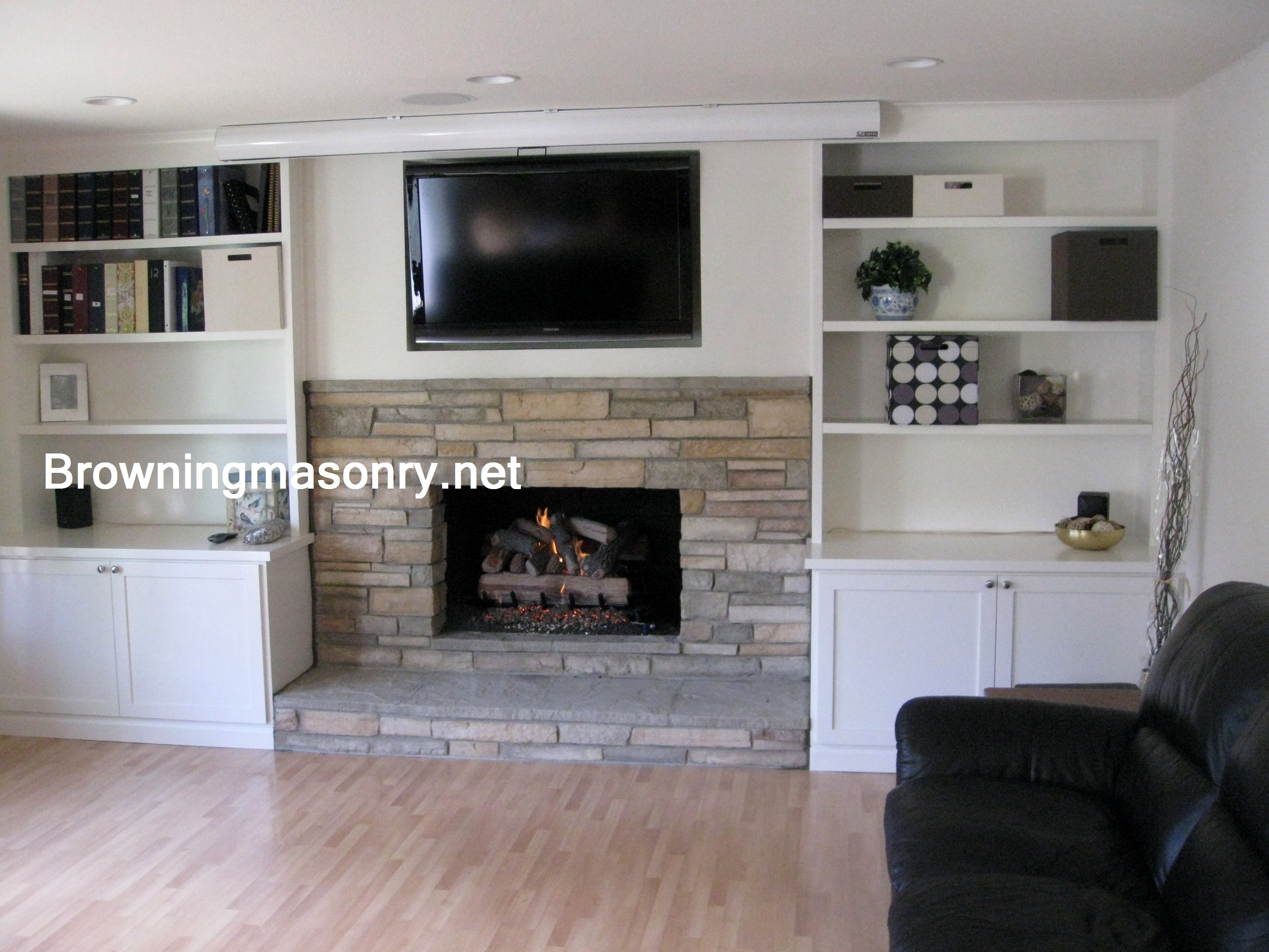 after with of before brick and ideas pictures remodel fireplace corner modern